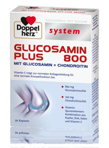 Doppelherz System Glukosamin Plus 800, 30 kapsul