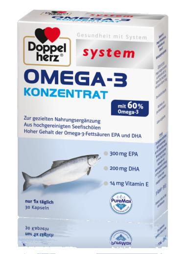 Doppelherz System Omega-3, 30 kapsul