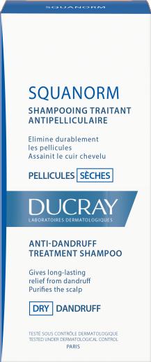 Ducray Squanorm, šampon za suhi prhljaj, 200 ml