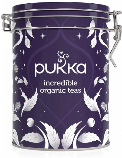 Pukka Darilni ekološki čajni izbor v darilni pločevinki, 30 vrečk