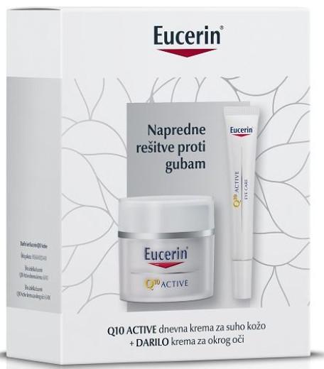 Eucerin Darilni paket Q10 Active dnevna nega