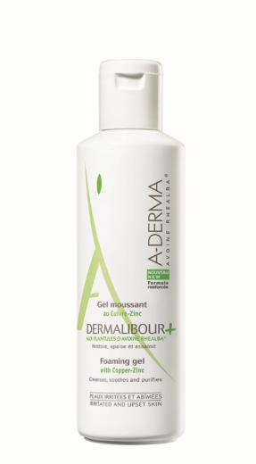 A-Derma Dermalibour +, peneči gel, 250 ml