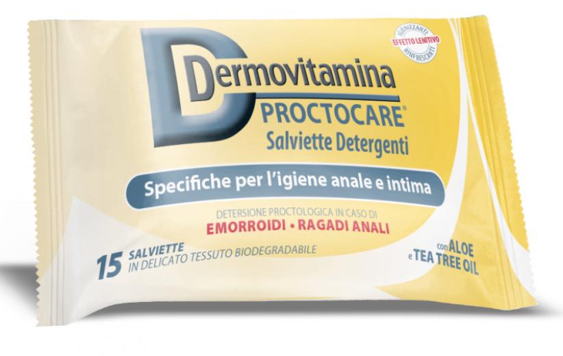 Dermovitamina Proctocare, higienski robčki, 15 kosov