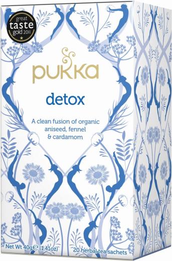 Pukka Detox, ekološki čaj, 20 vrečk