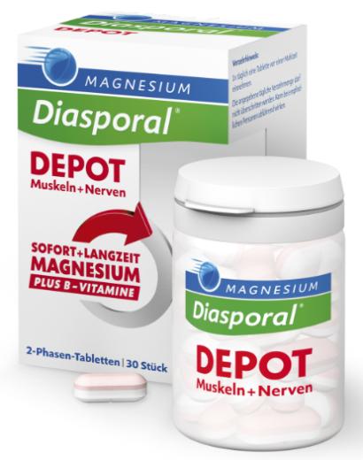 Magnesium Diasporal Depot, 30 tablet