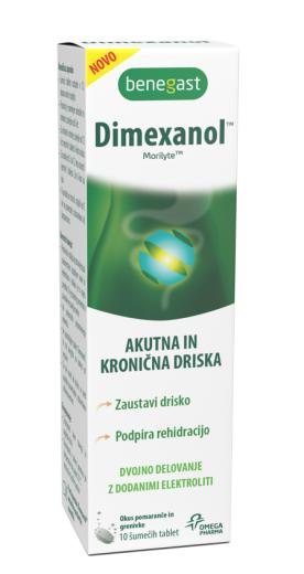 Benegast Dimexanol, 10 šumečih tablet