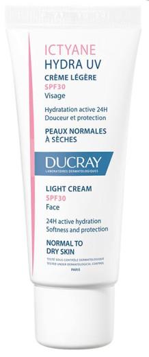 Ducray Ictyane UV lahka krema - ZF30, 40 ml