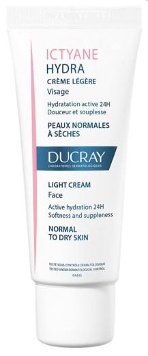 Ducray Ictyane lahka krema za obraz, 40 ml
