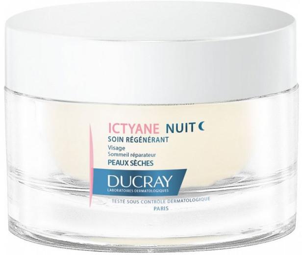 Ducray Ictyane nočna krema, 50 ml