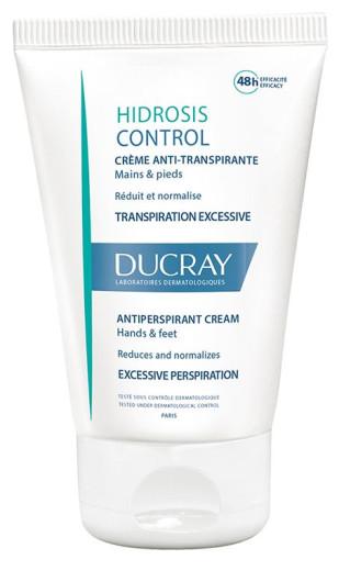 Ducray Hidrosis Control antiperspirantna krema, 50 ml