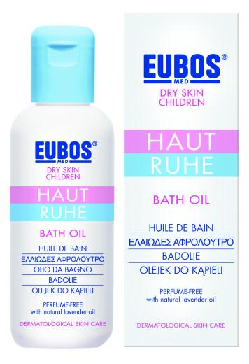Eubos Med Haut Ruhe otroško olje za kopanje, 125 ml
