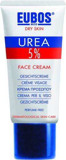 Eubos 5% Urea krema za obraz, 50 ml