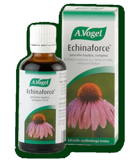 Echinaforce, peroralne kapljice, raztopina, 50 ml