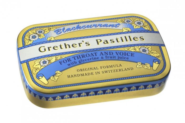 Grether's pastile z okusom črnega ribeza, 60 g