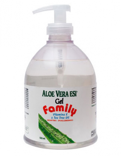 Esi Aloe vera gel z vitaminom E in oljem čajevca, 500 ml