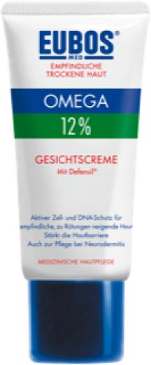 Eubos Omega 12% krema za obraz, 50 ml