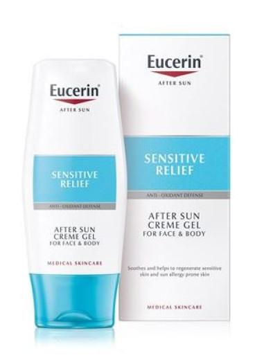 Eucerin After Sun, gel za po sončenju za kožo, nagnjeno k alergijam, 150 ml