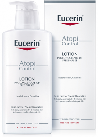 Eucerin AtopiControl, losjon za nego telesa, 400 ml