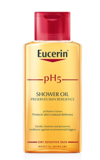 Eucerin pH5, olje za prhanje, 200 ml