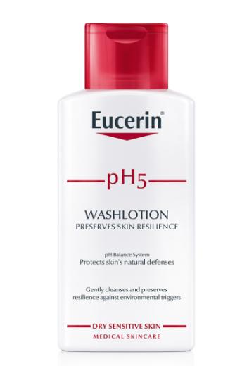 Eucerin pH5, tekoči losjon za umivanje, 200 ml