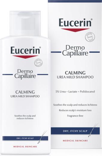 Eucerin DermoCapillaire Urea, šampon, 250 ml