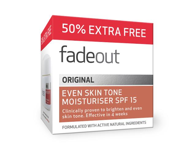 Fade Out Original vlažilna krema za posvetlitev kože - ZF 15, 75 ml
