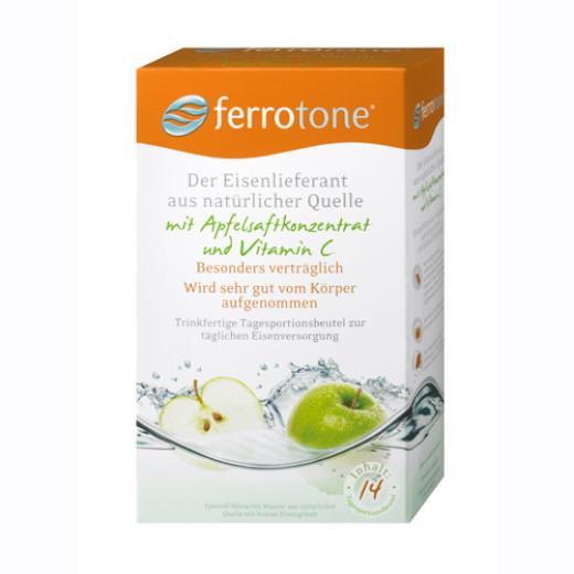Ferrotone - jabolko, 14 vrečk
