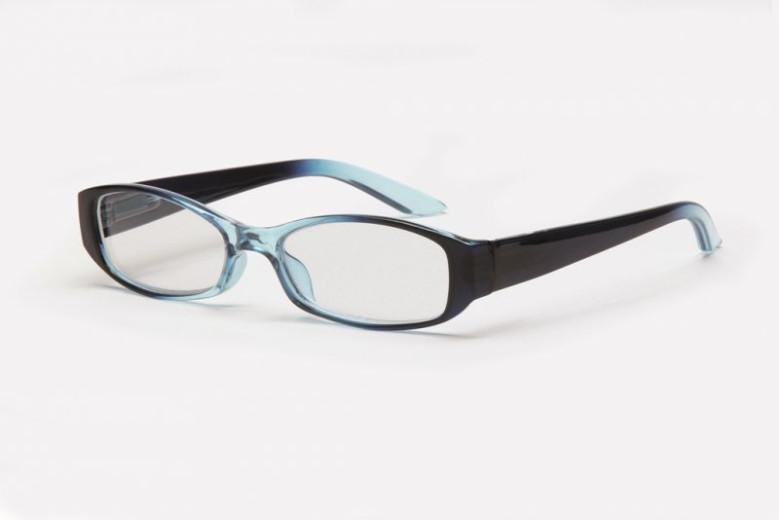 Filtral bralna očala F45.316.34 (+1,0), modra kristal