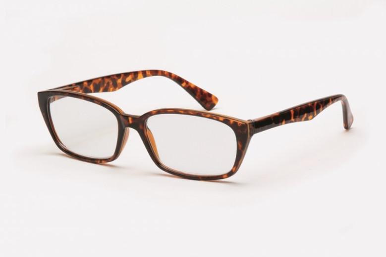 Filtral bralna očala F45.330.94 (+2,0), rjava
