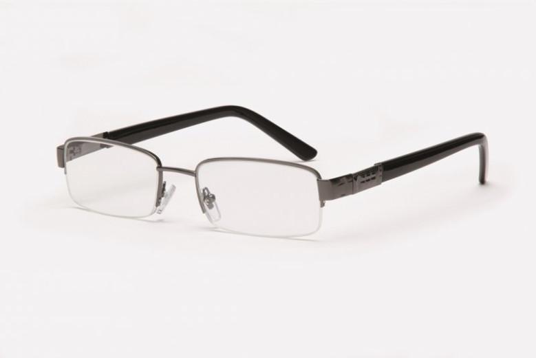 Filtral bralna očala F45.268.54 (+1,0), siva