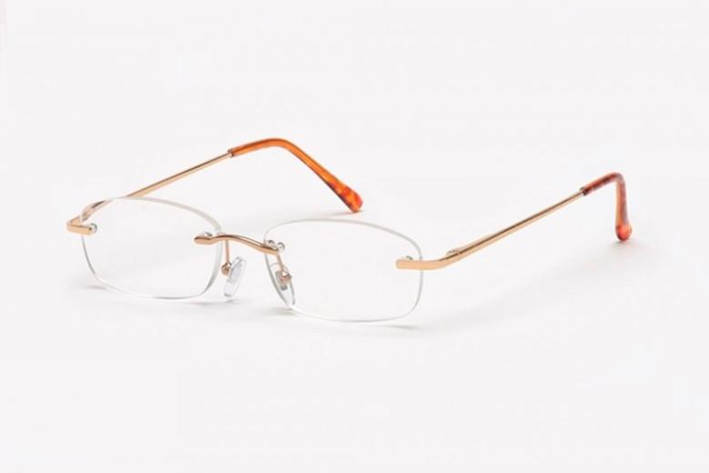 Filtral bralna očala F45.010.03 (+3,0), zlata