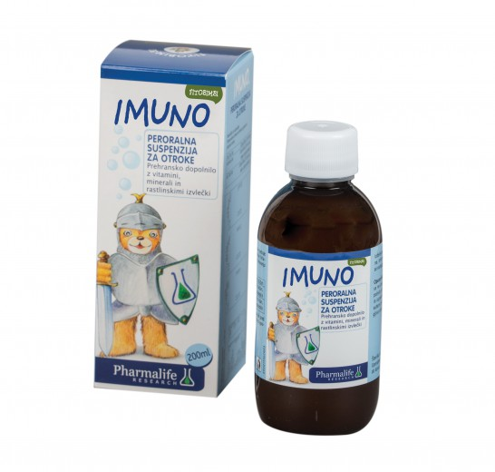 Fitobimbi Imuno, peroralna suspenzija za otroke, 200 ml