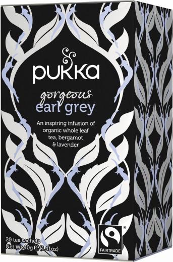 Pukka Gorgeous Earl Grey, ekološki črni čaj, 20 vrečk