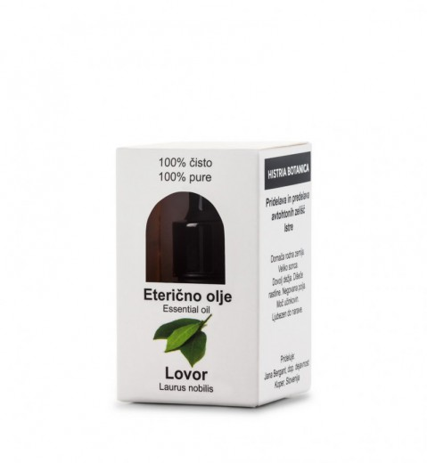Histria Botanica, eterično olje lovorja, 3 ml