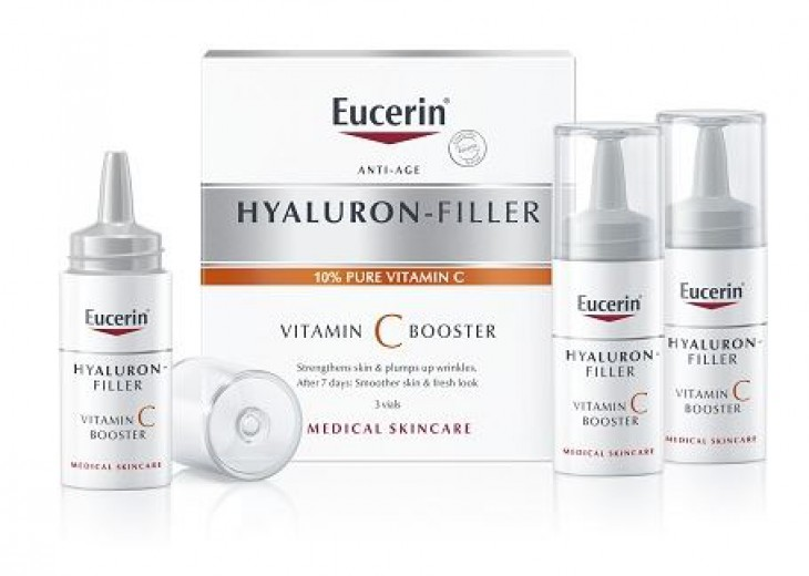 Eucerin Hyaluron-Filler Vitamin C Booster, 3 x 7,5 ml