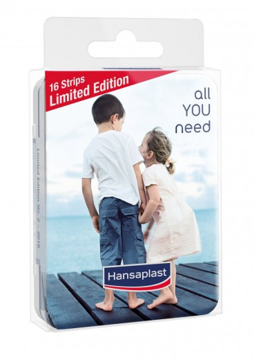 Hansaplast Promo Box, komplet obližev v škatlici, 16 obližev