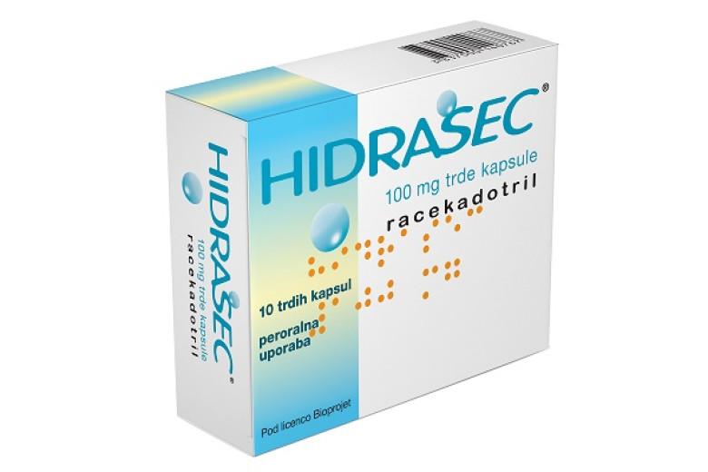 Hidrasec 100 mg, 10 trdih kapsul