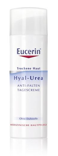 Eucerin Hyal-Urea, dnevna krema proti gubam, 50 ml