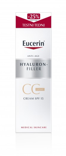 Eucerin Hyaluron-Filler, CC krema - Light, 50 ml