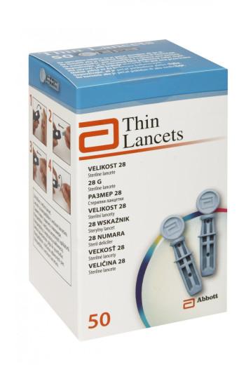 Thin Lancets, lancete