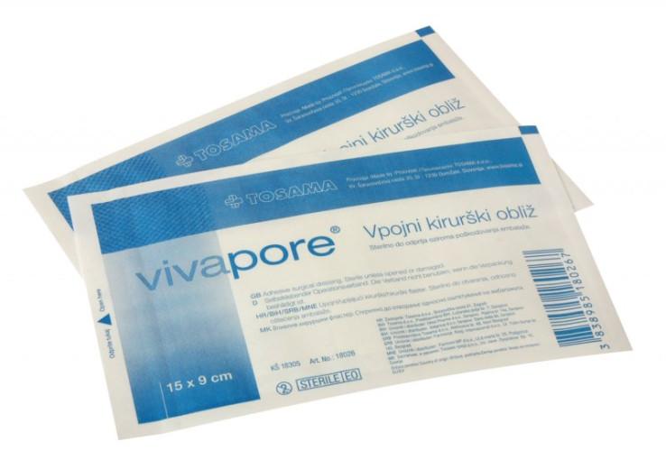 Vivapore obliži 15 x 9 cm
