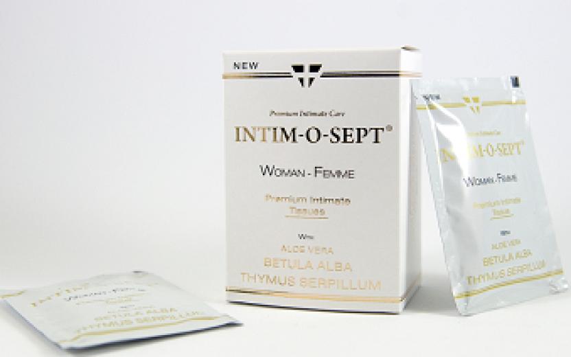 Intim -o- sept Premium intimni robčki, women, 10 robčkov