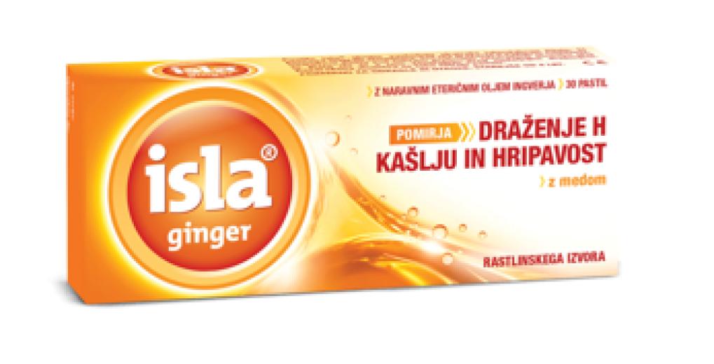 Isla Ginger, 30 pastil