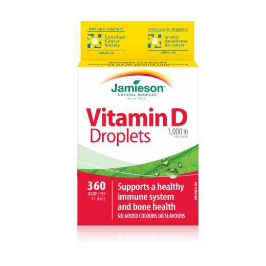 Jamieson Vitamin D kapljice 1000 IU/25μg,11,7 ml