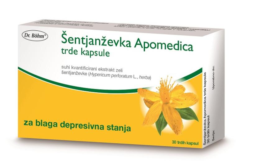 Šentjanževka Apomedica, 30 trdih kapsul