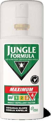 Jungle Formula Maximum, zaščita pred klopi, 75 ml