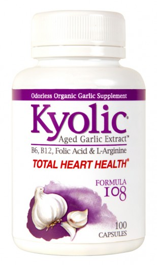 Kyolic Total Heart Health - Formula 108, 100 kapsul