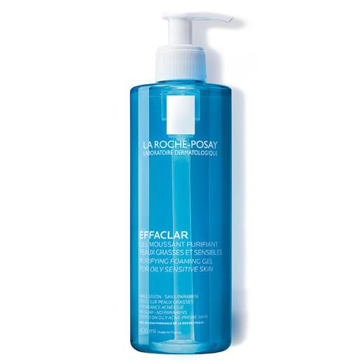 La Roche-Posay Effaclar, peneči čistilni gel, 400 ml