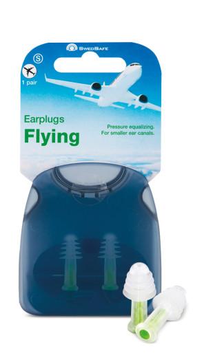 Swedsafe Ušesni čepki za uporabo v letalu – S, 1 par