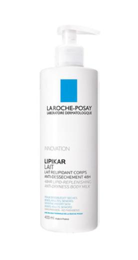 La Roche-Posay Lipikar, mleko za telo, 400 ml